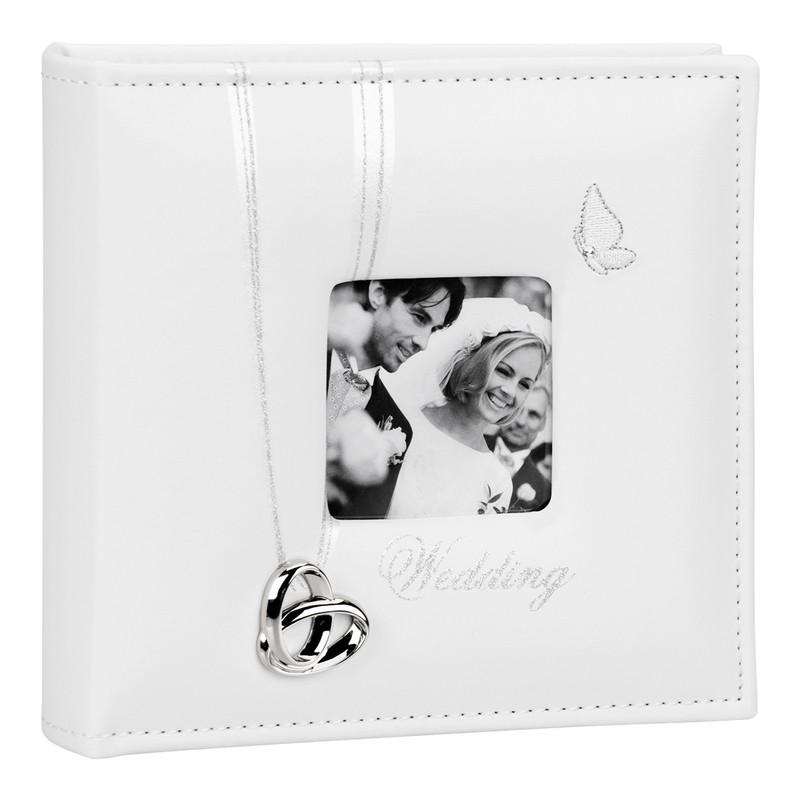 Biały Album na Zdjęcia Ślub Prezent Dedykacja