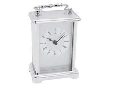 Zegar Posrebrzany Prezent na Urodziny z Grawerem