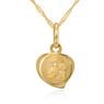 Medalik z Matką Boską Częstochowską p.333 na Chrzest z Dedykacją 3
