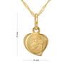 Medalik z Matką Boską Częstochowską p.333 na Chrzest z Dedykacją 5