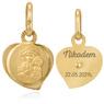Medalik z Matką Boską Częstochowską p.333 na Chrzest z Grawerem 2