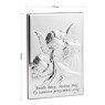 Obrazek Anioł Stróż z modlitwą 13 x 18 cm Pamiątka Chrztu Grawer 3