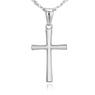 Srebrny 925 Krzyżyk chrzest komunia bierzmowanie Dedykacja 6