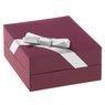 Srebrny komplet wisiorek i kolczyki pr. 925 serce z różową cyrkonią DEDYKACJA 6