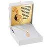 Złoty Komplet pr. 585 Zegar Roczek Chrzest GRAWER różowa kokardka 1