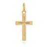 Złoty krzyżyk / pr. 585 / prezent na Chrzest Św., I Komunię Św., Bierzmowanie / z Grawerem 3