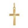 Złoty krzyżyk / pr. 585 / prezent na Chrzest Św., I Komunię Św., Bierzmowanie / z Grawerem 5