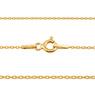 Złoty krzyżyk z łańcuszkiem / pr. 585 / prezent na Chrzest Św., I Komunię Św., Bierzmowanie / z Grawerem 7