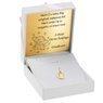 Złoty medalik Matka Boska Częstochowska pr. 585 Dedykacja 1