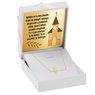 Złoty naszyjnik z krzyżem, pr. 585 z Grawerem 2
